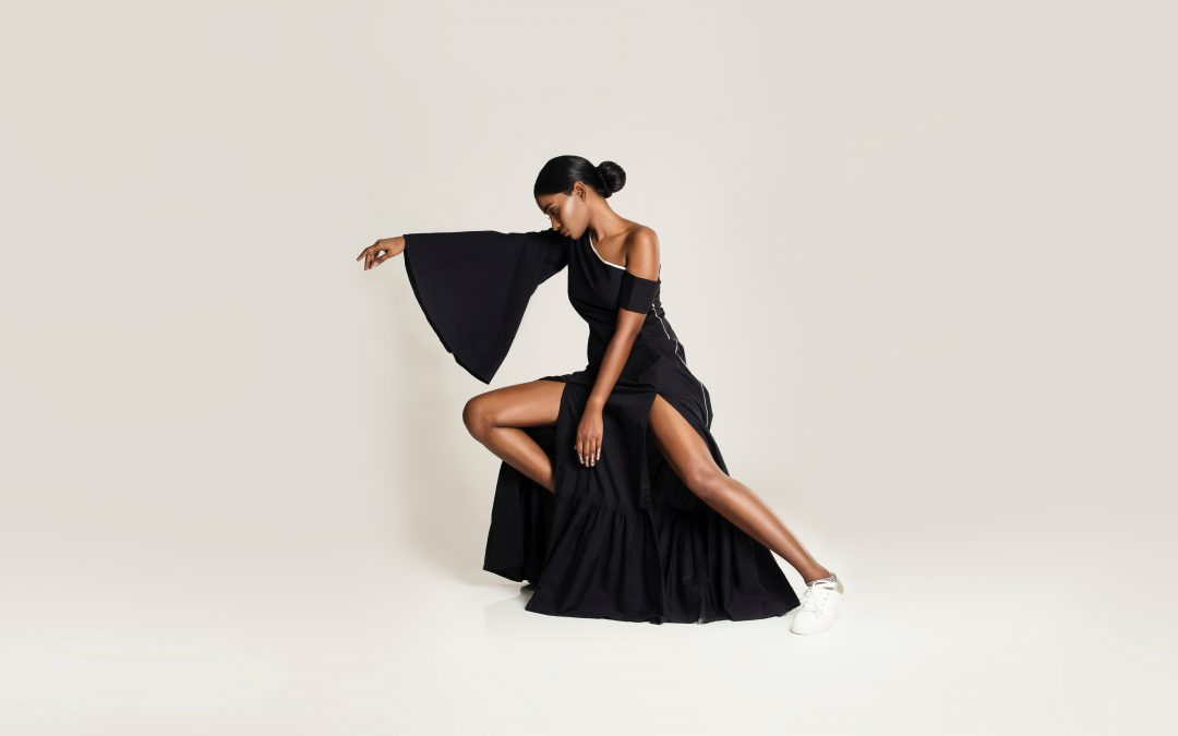 Sorte kjoler til sommerens fester